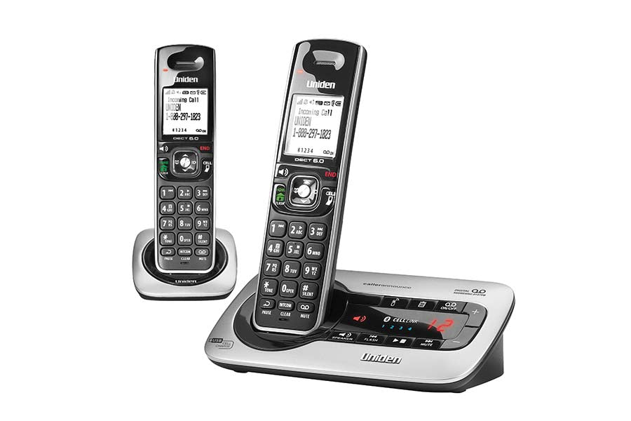 DECT 6.0 Cordless Phone with Digital Answering System. Two Handsets.