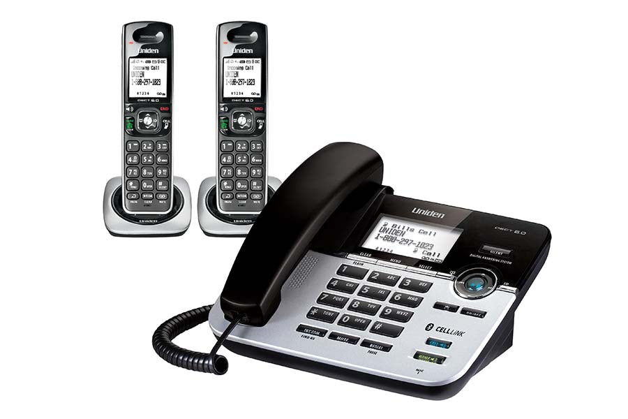 Dect 6 0 Corded  Cordless Phone With Digital Answering