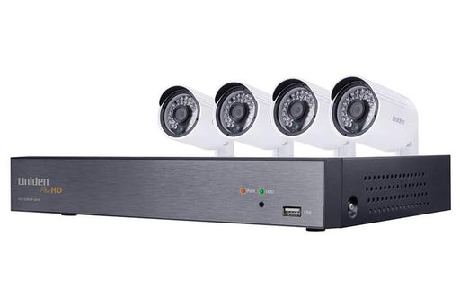 DVR security system 4 camera UDVR86x4 security system uniden