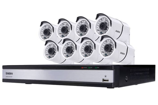 DVR security system 8 camera UDVR85x8 security system uniden