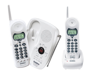 Two Caller ID Handsets with Charging Cradle, One Touch RocketDial and Answering System