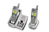 5.8GHz Extended Range Cordless Phone and Answering System with Extra Handset