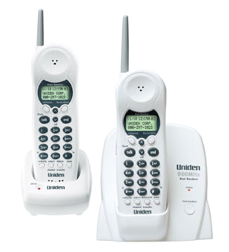 900 MHz Extended Range - Two Caller ID Handsets with Charging Cradle