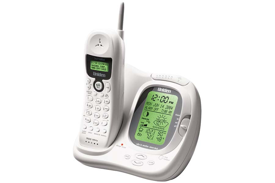 900MHz Cordless Weather Forecast Phone