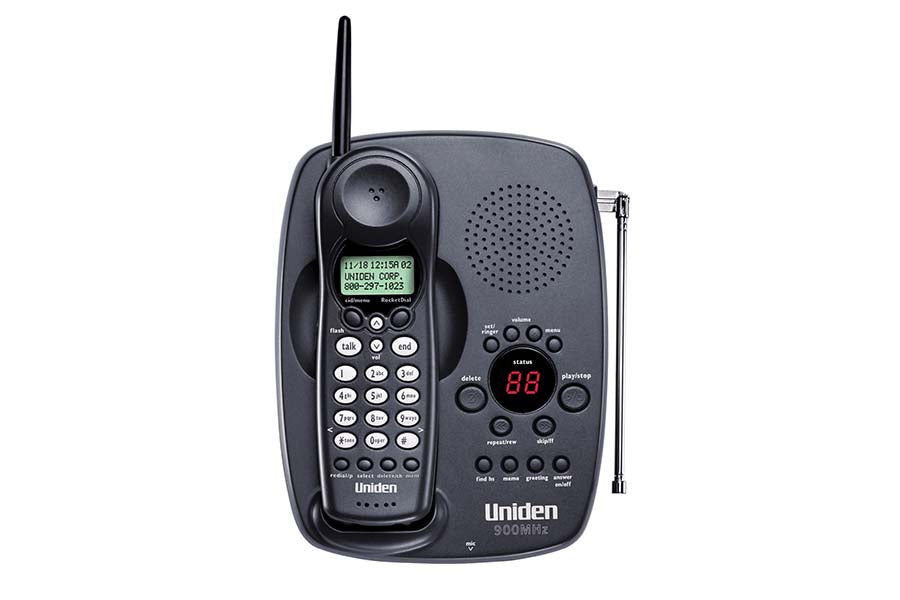 900 MHz Cordless Phone with Extended Range & One Touch RocketDial - EXAI378