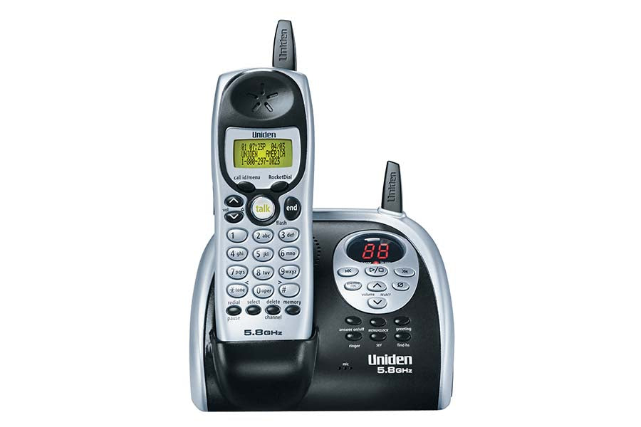 5.8 GHz Extended Range Cordless Phone with Caller ID and Digital Answering System