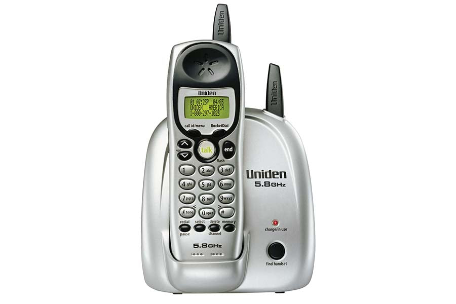 5.8 GHz Extended Range Cordless Phone with Caller ID - EXI5160