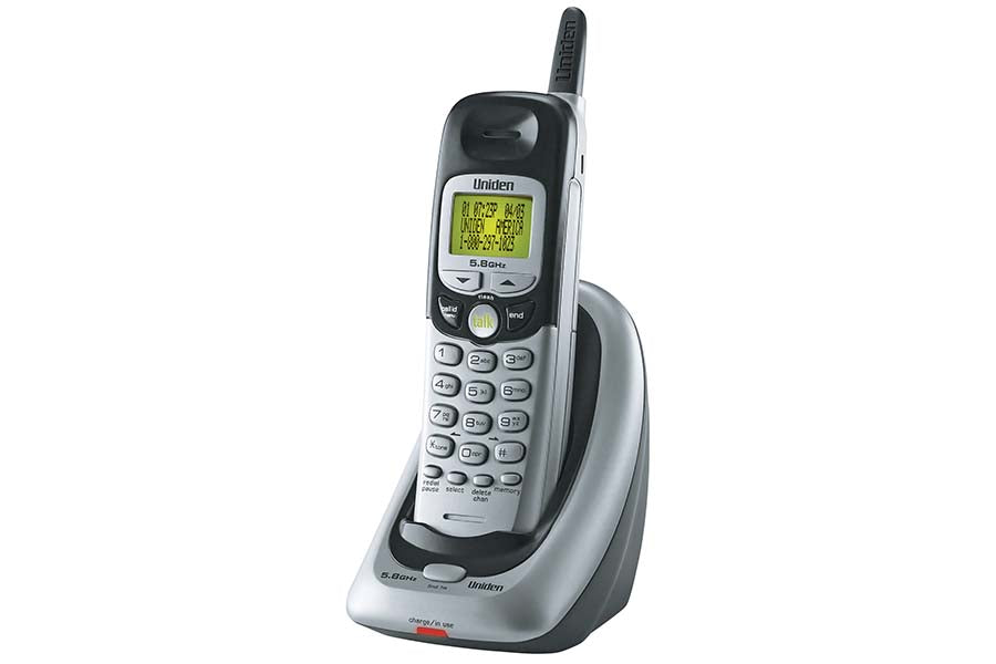 5.8GHz Analog Extended Range Cordless phone with Caller ID