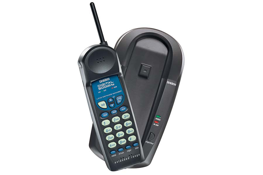 900 MHz Long Distance Manager Digital Cordless Phone - EXL8901