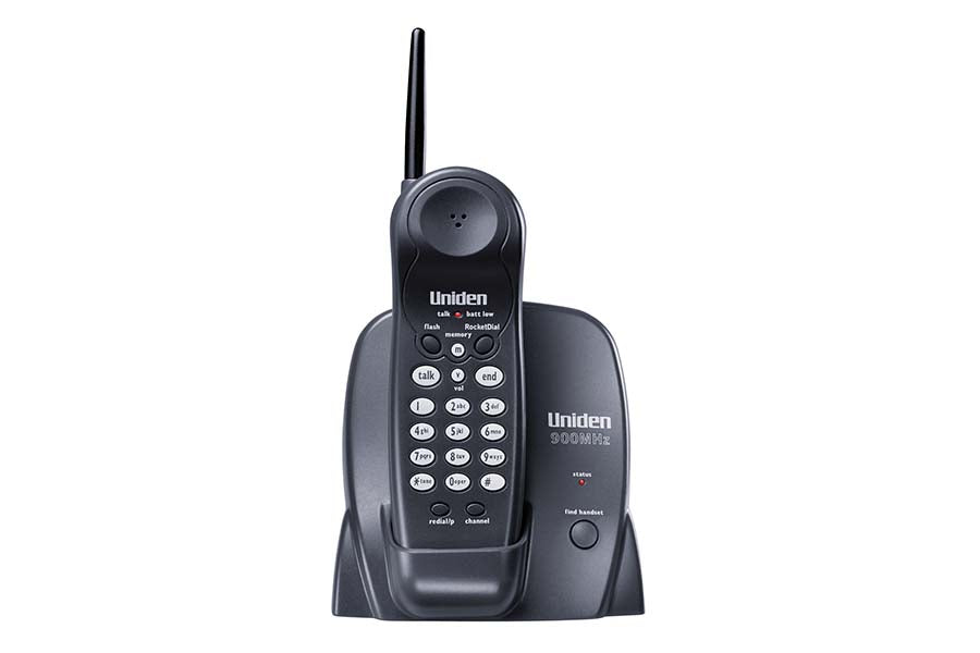 900 MHz Cordless Phone with Extended Range & One Touch RocketDial - EXP371