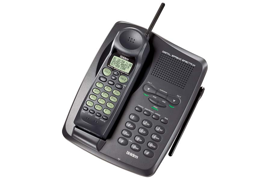 900 MHz 2-Line Digital Spread Spectrum Cordless with Call Waiting and Caller ID