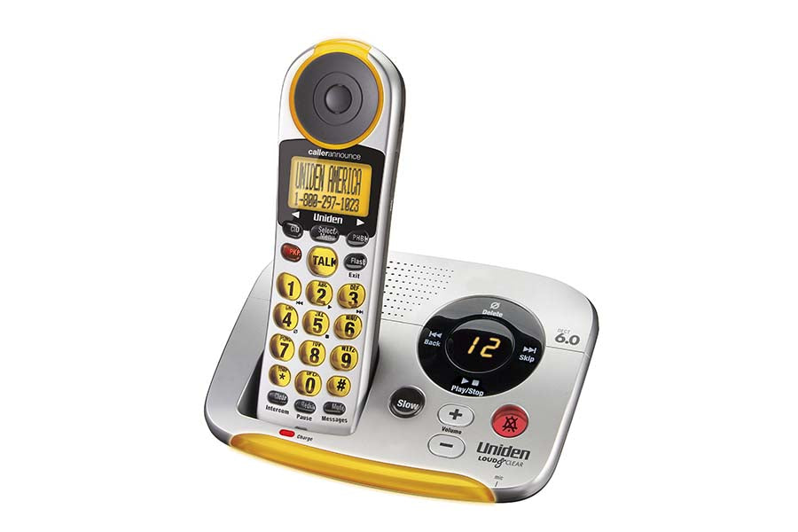 DECT 6.0 Cordless Digital Answering System