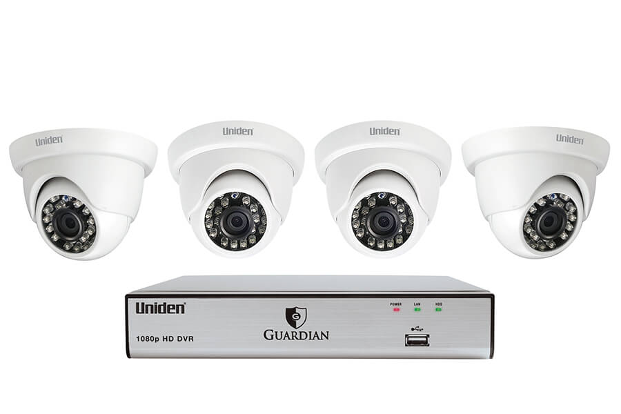 Guardian G7804D1 Wired Video Surveillance System