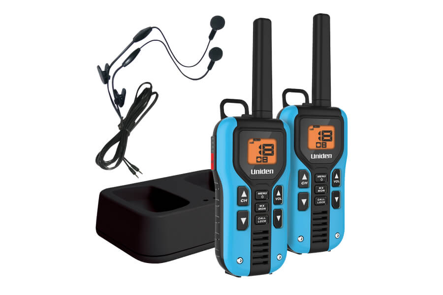 GMR4055-2CKHS Two Way Radio with Charger and Headsets