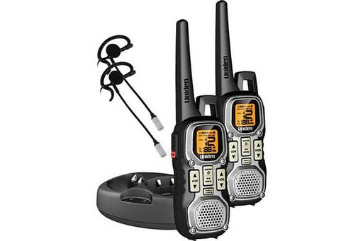 GMRS 40 mile radio with charging cradle GMR4040-2CKHS walkie talkie uniden