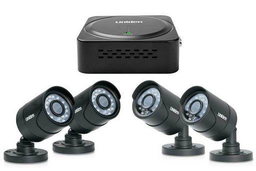 Micro DVR 4 channel 4 cam security system B7440DM security system uniden