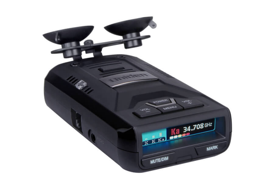 Extreme Long Range Laser Radar Detector with GPS