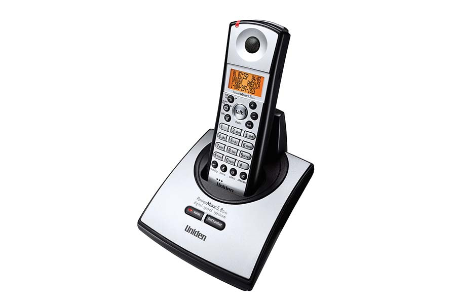 5 8 Ghz Digital Spread Spectrum Cordless Phone With Caller