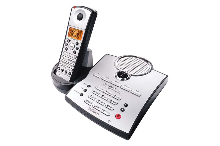 5.8 GHz Digital Spread Spectrum Cordless Phone with Caller ID TRU5865