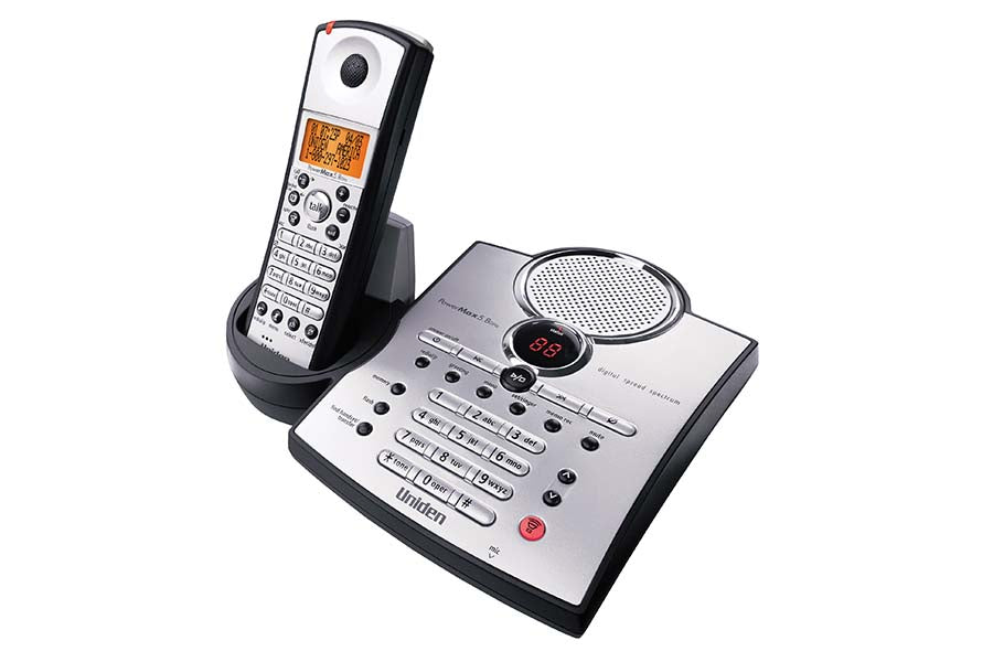 5.8 GHz Digital Spread Spectrum Cordless Phone with Caller ID and Answering System TRU5885