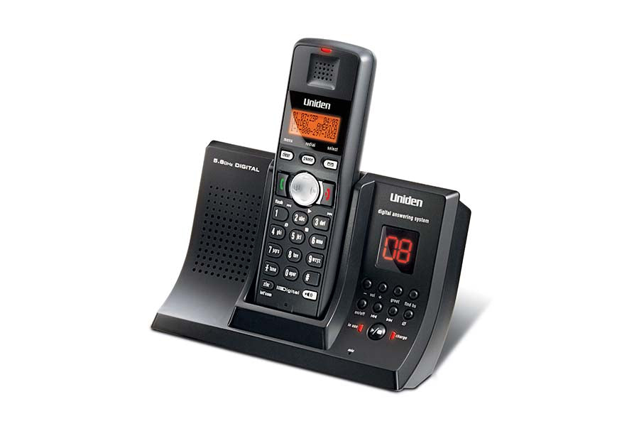 5.8GHz Digital (FHSS) Cordless Phone with Digital Answering System