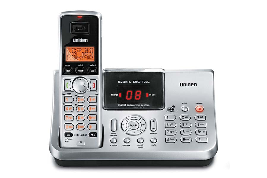 5.8 Digital Answering System with dual keypad