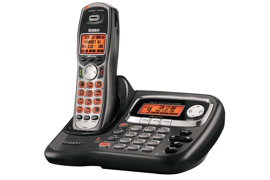 Cordless Digital Answering System with Dual Keypad and Speakerphone TRU9485