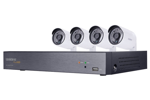 UDVR46x4 HD 1080P 4-Channel DVR