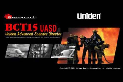 advanced scanner director demo BCT15UASD software uniden