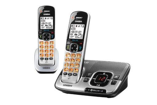 cordless answering system D1780-2BT cordless phones uniden