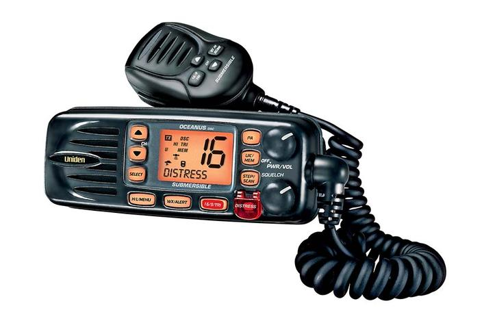 full featured VHF marine radio OCEANUSDSC-BK marine radio uniden