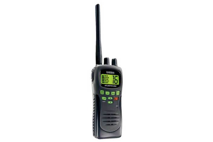 handheld two way VHF marine radio Atlantis250 marine radio uniden