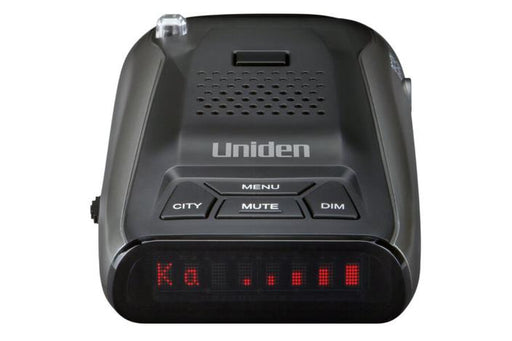 long range radar detector with voice alerts DFR5 radar detectors uniden