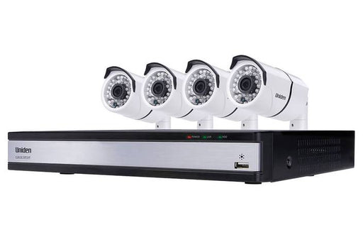 security system 4 camera DVR UDVR45x4 security system uniden
