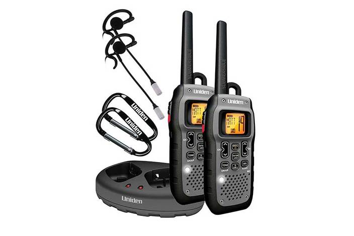 2 x 50 Mile Submersible GMRS/FRS Two-Way Radios