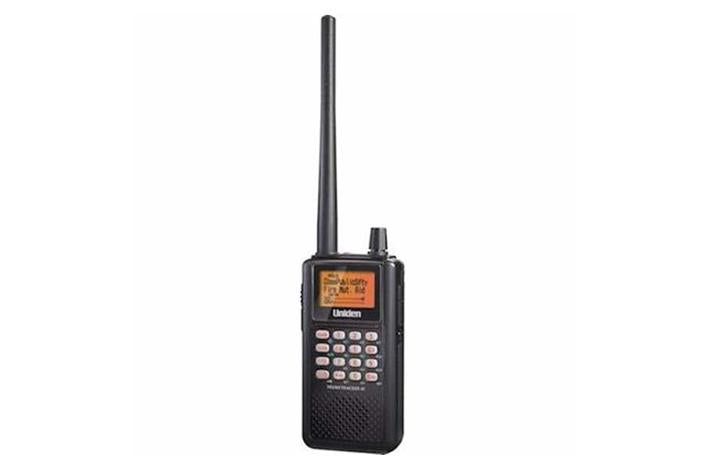 trunktracker iii handheld analog trunking scanner BC346XTC scanner uniden