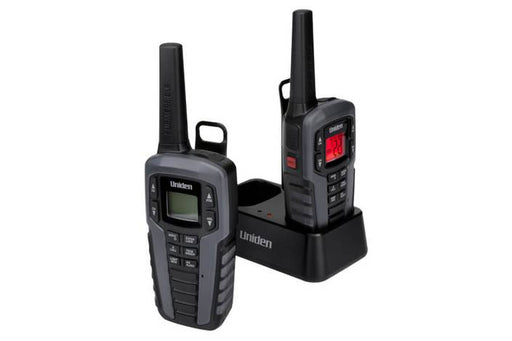 two way charger and headset SX377-2CKHS walkie talkie uniden