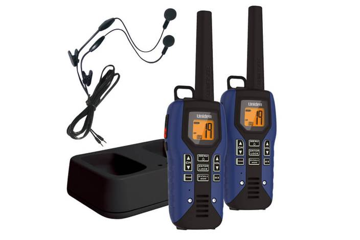 two way radio charger headset GMR5095-2CKHS walkie talkie uniden
