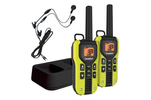 two way radio li ion charger and headset GMR4060-2CKHS walkie talkie uniden