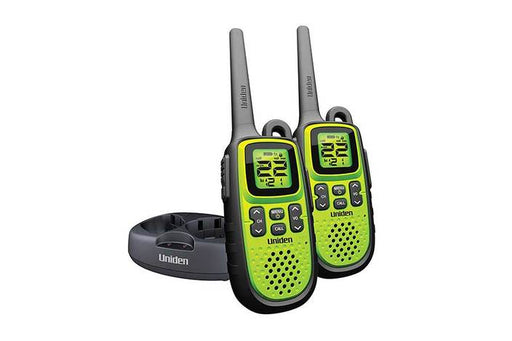 waterproof 28 mile GMRS radios GMR2838-2 walkie talkie uniden