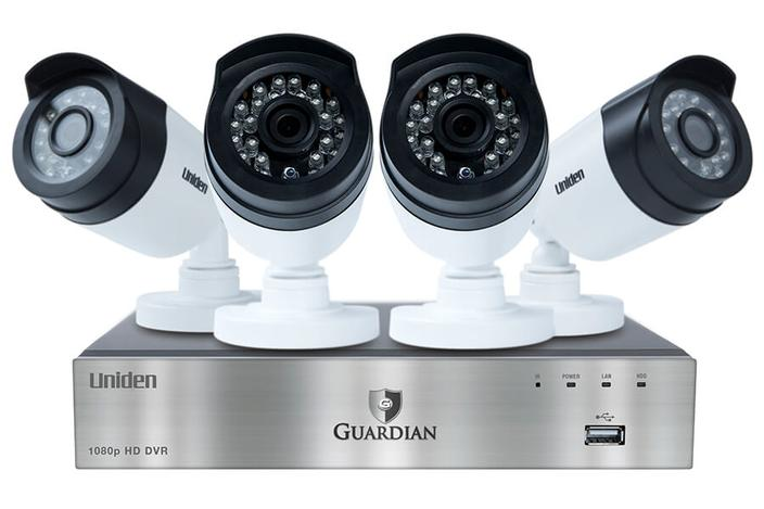 wired security system night vision G6440D1 security system uniden