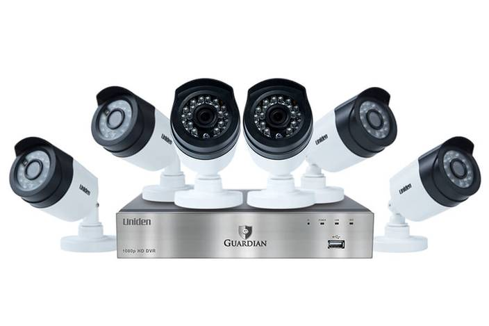 wired security system with 8 cameras G6860D2 security system uniden