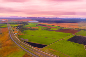 Beautiful Aerial Drone Queensland Aiustralia Farming feiles  Aeroture Michael Haluwana