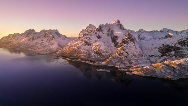 Arctic Mountains  - Arctic Circle -  Pano - 4020