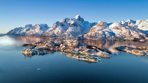 Arctic Mountains  - Arctic Circle -  Pano - 4024