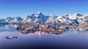 Arctic Mountains  - Arctic Circle -  Pano - 4025