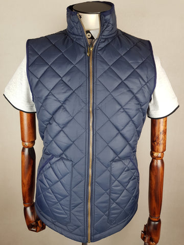 Fleece Lined Quilted Gilet By Vedoneire