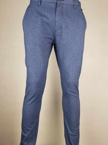 Arval Slim Fit Fashion Pants Blue Denim By Selected