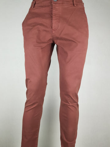 Luca Skinny Chino Pants Chocolate By Selected