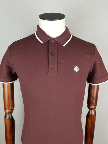 New Season Slim Fit Polo Brown By Selected